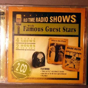 OLD TIME RADIO SHOWS CD
